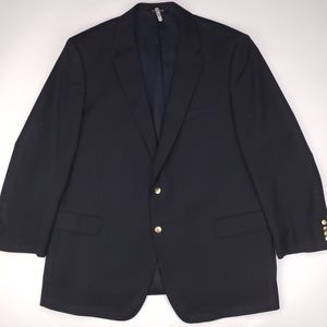 Jos A Bank Signature Collection Navy Blazer 50L Me